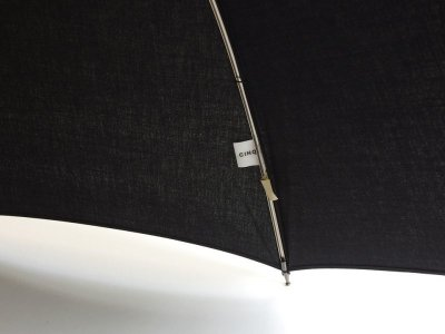 画像2: CINQ/サンク 晴雨兼用傘(ブラック)