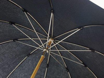 画像1: CINQ/サンク 晴雨兼用傘(ブラック)