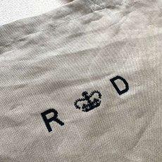 画像5: R&D.M.Co-/オールドマンズテーラー  リネンデニム トートバッグ フラックス (5)