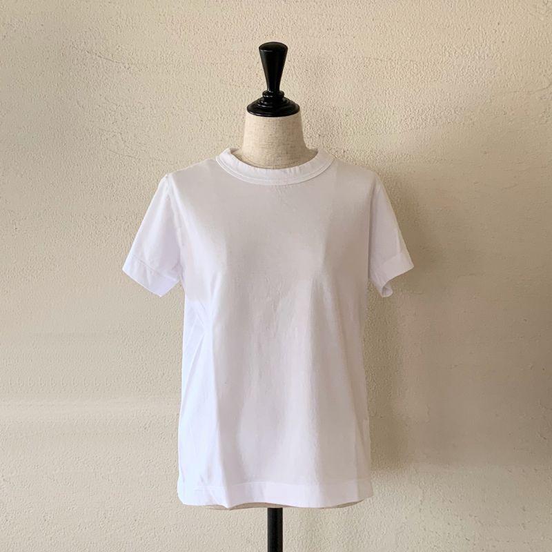画像1: homspun/ホームスパン 天竺半袖Tシャツ サイズM (1)
