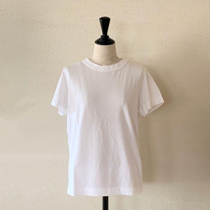 画像1: homspun/ホームスパン 天竺半袖Tシャツ サイズL (1)