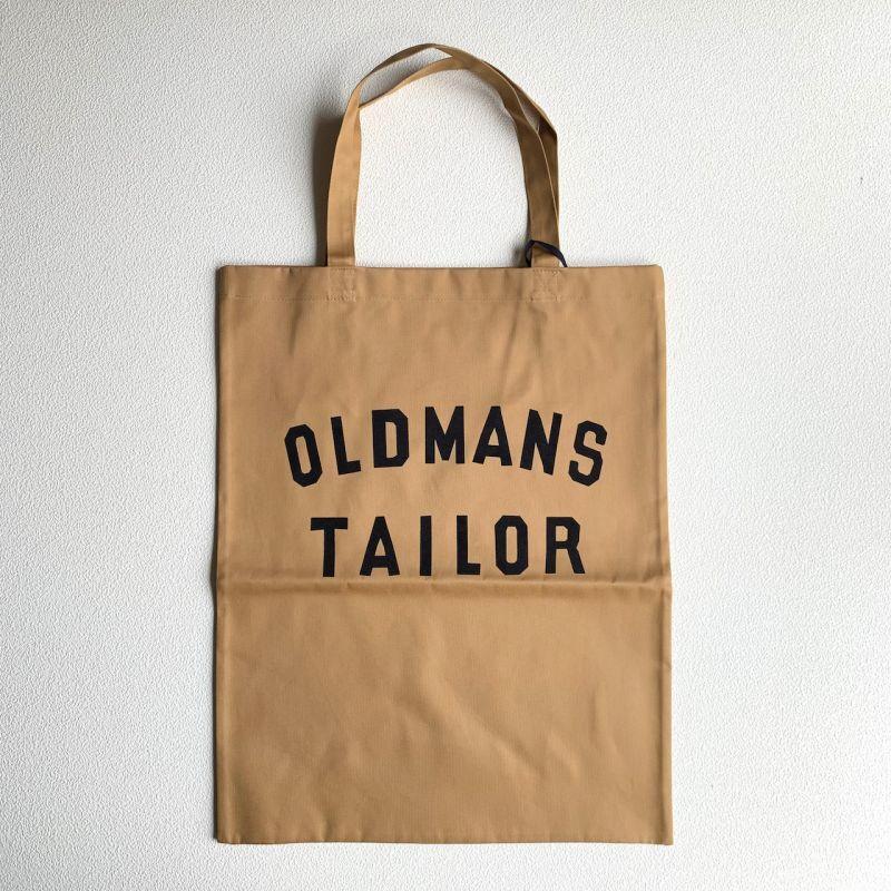画像1: OLD MAN'S TAILOR/オールドマンズテーラー  OMTプリントトートバッグ キャメル (1)